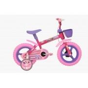 Bicicleta Athor Corujinhas Infantil Aro 12 - Violeta
