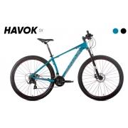 Bicicleta Audax Havok SX Aro 29 Tam: 13 - Verde/Azulado