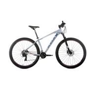 Bicicleta Audax Havok TX Aro 29 - Cinza/Azul