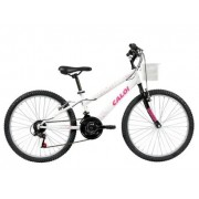 Bicicleta Caloi Ceci Aro 24 - Branca