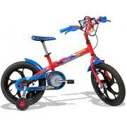 Bicicleta Caloi Infantil Spider Man Aro 16