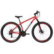 Bicicleta Caloi Supra Aro 29 Tam. 17 Vermelha