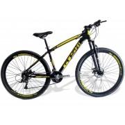 Bicicleta Gts M1 Stilom Amarela Aro 29