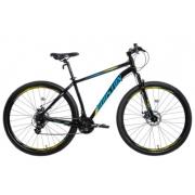 Bicicleta Houston Skyler Kit Shimano + Freio a Disco - Preto Tam:19