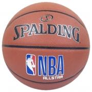 Bola de Basquete Spalding NBA All Star de Microfibra - Laranja