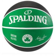 Bola de Basquete Spalding NBA Time Boston Celtics - Preto e Verde