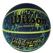 Bola de Basquete Wilson Hyper Shot - Azul/Amarelo