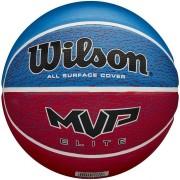 Bola De Basquete Wilson MVP Elite Azul e Vermelho