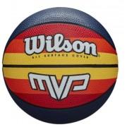 Bola De Basquete Wilson MVP Retro - Azul/Laranja