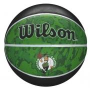 Bola de Basquete Wilson NBA Team Tribute Celtics  - Preto/Verde