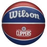 Bola de Basquete Wilson NBA Team Tribute Clippers  - Azul/Vermelho