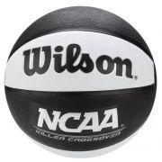 Bola de Basquete Wilson NCAA Killer Crossover - Branco e Preto