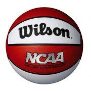 Bola de Basquete Wilson NCAA Killer Crossover - Branco e Vermelho