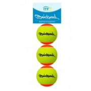 Bola de Beach Tennis Quicksand 3 Unidades