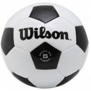 Bola de Futebol de Campo Wilson Tradicional 5 - Preto/Branco