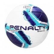 Bola de Futebol de Campo Bravo Penalty - Azul/Roxa