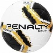 Bola de Futebol de Campo Bravo Penalty - Preto/Dourado