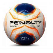 Bola de Futebol de  Campo Penalty S11 - Branca/Laranja