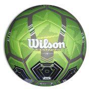 Bola de Futebol de Campo Wilson Hex Stinger - Verde e Preto