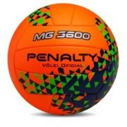 Bola de Futebol de Vôlei Penalty MG 3600 - Laranja