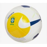 Bola de Futebol Nike Society Brasil CBF - Amarelo e Azul