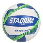 Bola de Futebol Stadium Vôlei Super Soft - Branco/Verde