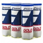 Bola de Tenis Babolat Gold Championship -  Pack c/ 6 tubos