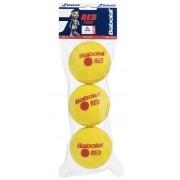 Bola de Tênis Babolat Red Foam  Espuma x 3 (Estágio 3)