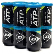 Bola de Tênis Dunlop  ATP Championship Extra Duty C/ 6 Tubos