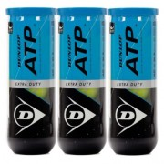Bola de Tênis Dunlop  ATP Extra Duty C/ 3 Tubos