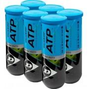 Bola de Tênis Dunlop  ATP Extra Duty C/ 6 Tubos