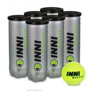 Bola de Tênis Inni Master - Pack C/ 6 Tubos