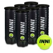 Bola de Tenis Inni Tournament -  Pack c/ 6 tubos