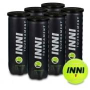 Bola de Tenis Inni Tournament -  Pack c/ 6 tubos