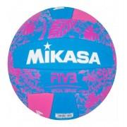 Bola de Vôlei Mikasa Good Vibes Rosa e Azul