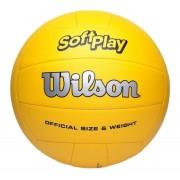 Bola de Volei Wilson Soft Play Oficial Amarelo