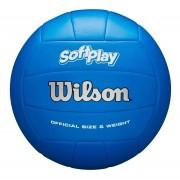 Bola de Vôlei Wilson Soft Play Oficial Azul Royal