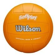 Bola de Vôlei Wilson Soft Play Oficial Laranja