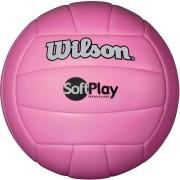 Bola de Vôlei Wilson Soft Play Oficial Rosa