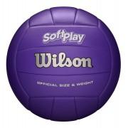 Bola de Vôlei Wilson Soft Play Oficial Roxo