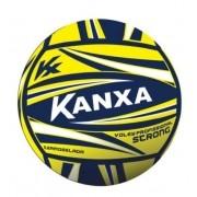 Bola Kanxa de Voley Profissional Strong - Amarelo/Azul