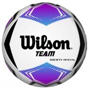 Bola Society de Futebol Wilson Team - Roxo/Preto