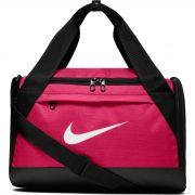 Bolsa Nike Brasilia Duffel Small 25L Rosa/Preta