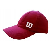 Boné Wilson Basic W Logo Vermelho