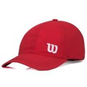 Boné Wilson Basic W Logo - Vermelho