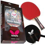 Raquete de Tenis de Mesa Butterfly  TBY 302 Yuki 2.1mm + Raqueteira