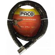Cadeado Articulado Bicicleta Paco  18mmx1000mm