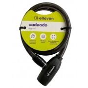 Cadeado C/Chave 10X65cm Elleven - Preto