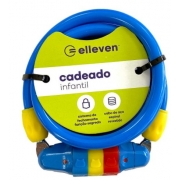 Cadeado Infantil 120cm x 8mm Elleven - Azul