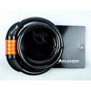 Cadeado P/Bike Shiver Espiral Segredo 12x150mm